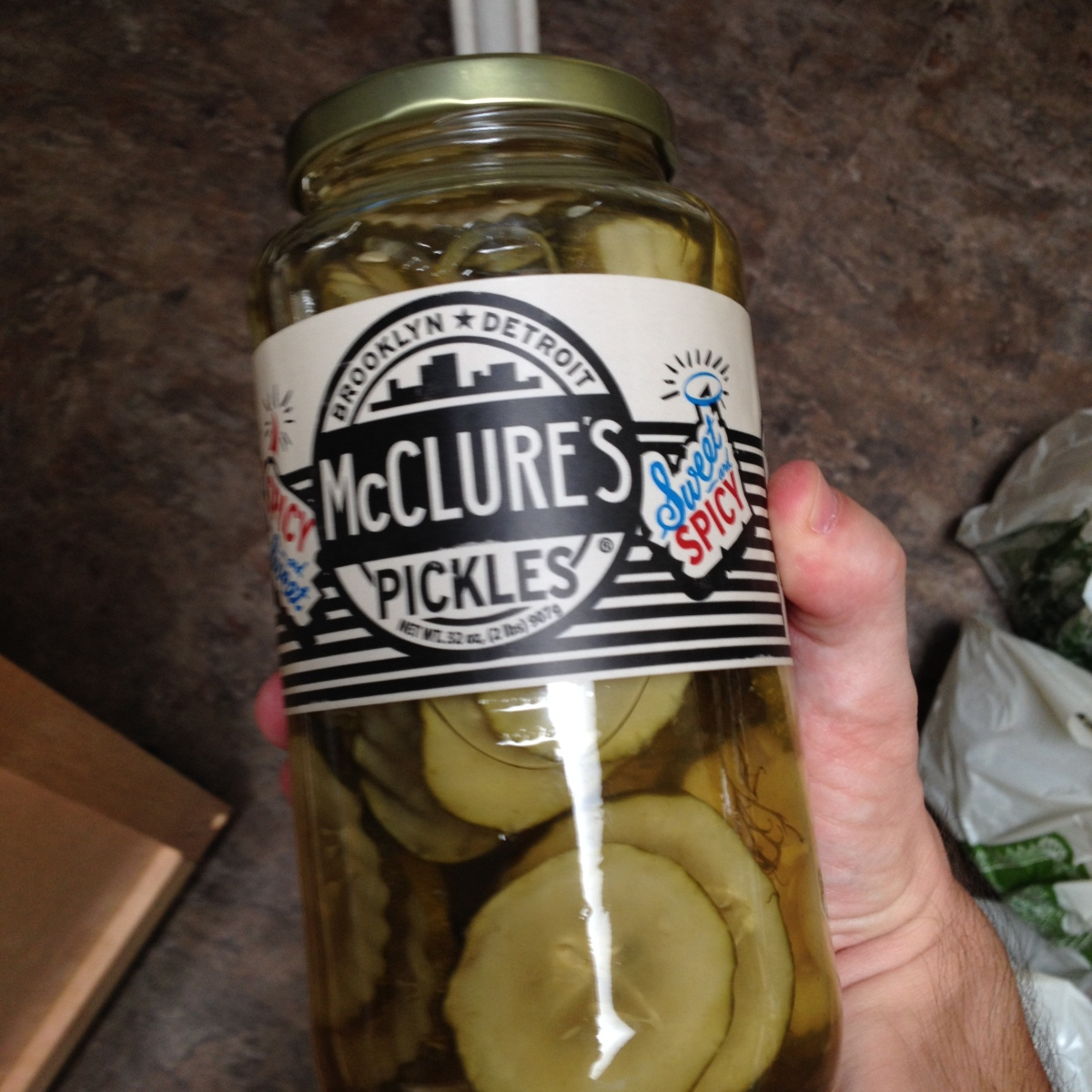 Hot and delicious, McClure's Pickles