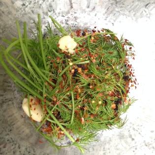 Herbs in Pickles Of Wisdom