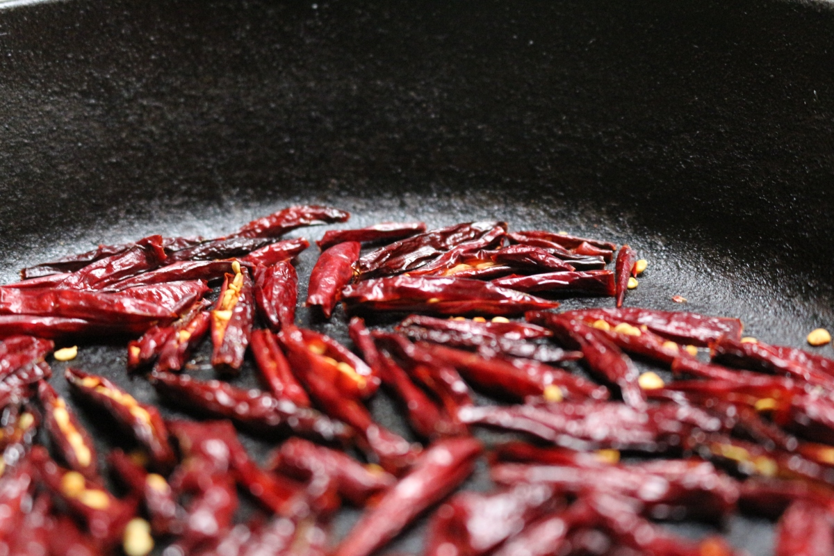 How To Make Dried Chili Flake